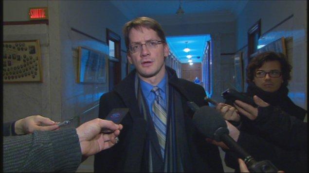 Sylvain Gaudreault, ministre des Affaires municipales