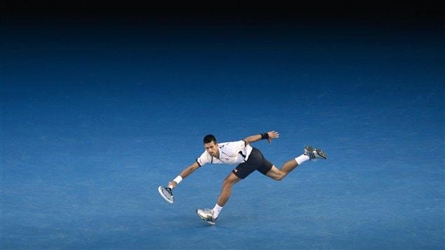 Novak Djokovic à Melbourne