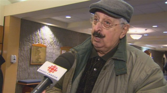 Vincent Fortin, retraité de Produits forestiers Résolu