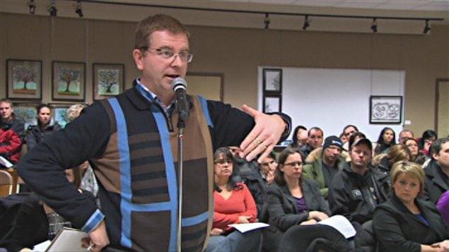 Plus de 80 parents ont assisté au conseil des commissaires.