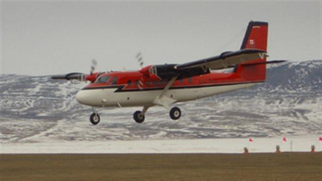 Un avion Twin Otto similaire à celui qui a disparu près de la base de la baie Terra Nova.