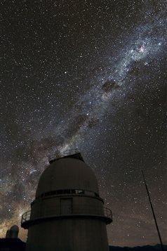 La Voie lactée, vue du site de l'observatoire de La Silla, au Chili