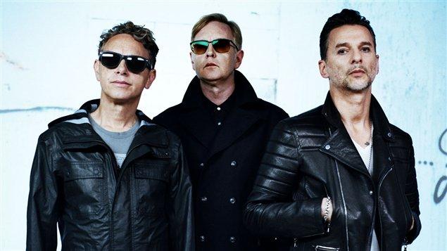 Le groupe britannique Depeche Mode