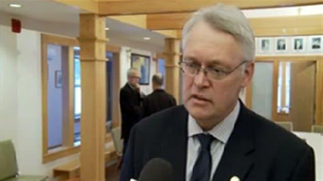 Le ministre délégué aux Régions et ministre responsable de la région de la Gaspésie-Les Îles, Gaétan Lelièvre