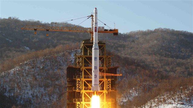 La Corée du Nord a procédé au lancement d'une fusée à longue portée en décembre 2012