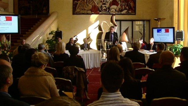 L'ambassadeur de France au Canada, Philippe Zeller, lance les célébrations du passage de Champlain en Outaouais.