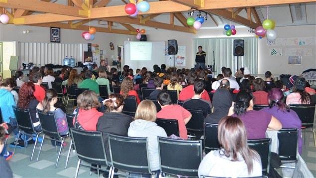 Conférence lors du Forum jeunesse 12-17 ans à Dubuisson