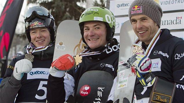 Justin Reiter, Rok Marguc et Roland Fischnaller