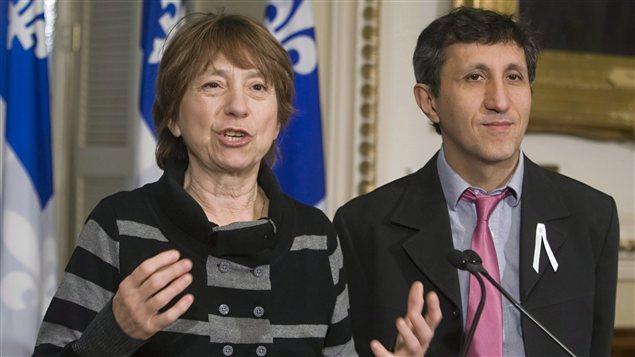 Françoise David et Amir Khadir