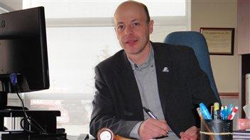 Joël Arseneau, maire des Îles-de-la-Madeleine