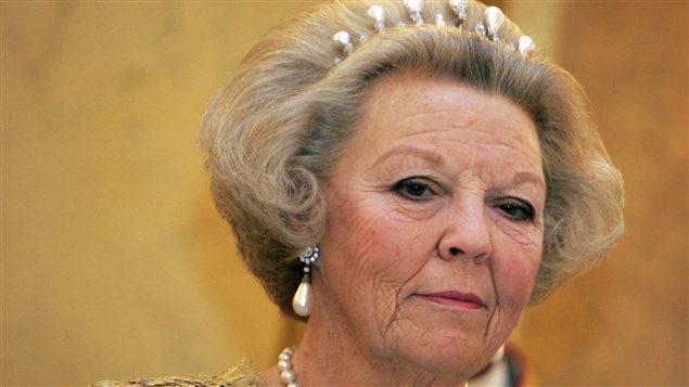 La reine Beatrix des Pays-Bas le 30 octobre 2006.