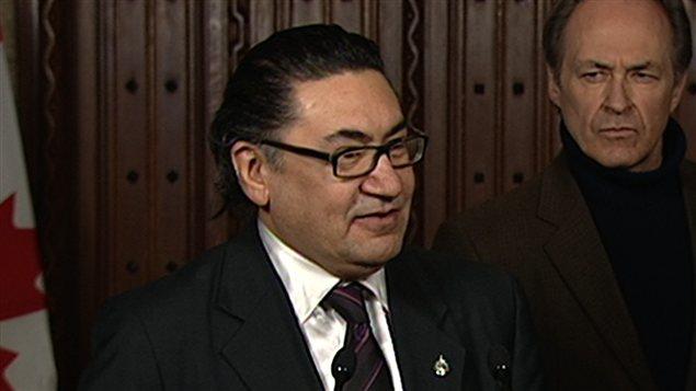 Le député du NPD Romeo Saganash