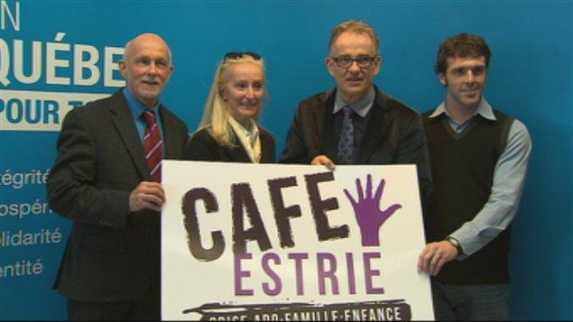 Le Programme CAFE Estrie a été lancé lundi matin à Sherbrooke.