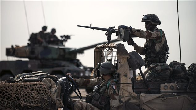 Soldats français déployés au Mali