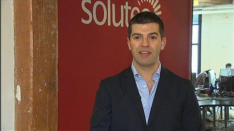 Raphaël Steinman, vice-président de la firme Soluteo