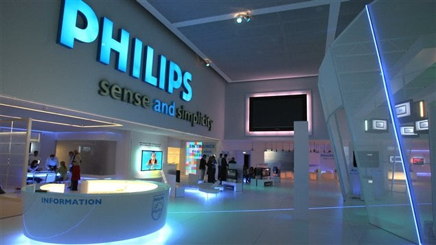 Un stand de Philips