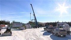 Pétrolia à Gaspé