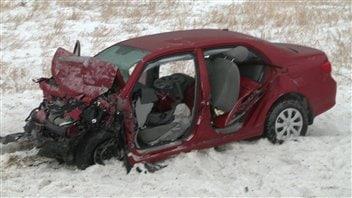 Un accident mortel est survenu mercredi matin à Sainte-Félicité