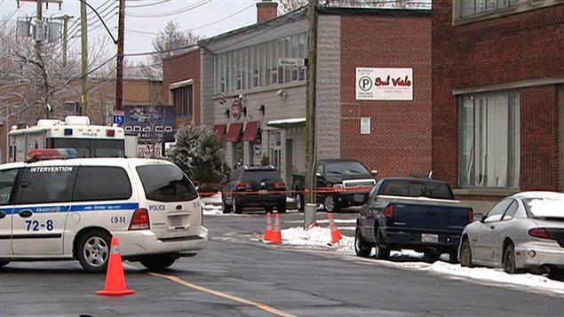 Nick Rizzuto Jr. a été tué en pleine rue, à Montréal, le 28 décembre 2009.