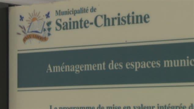 La municipalité de Sainte-Christine