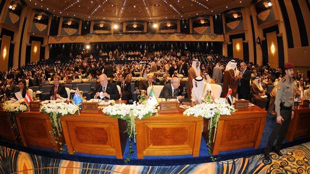 Une soixantaine de pays participent à la conférence de donateurs à Koweït, visant à venir en aide au peuple syrien.