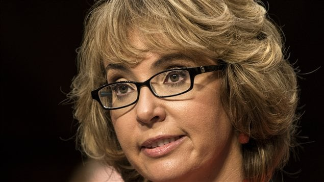L'ex-élue Gabrielle Giffords a été grièvement blessée dans une fusillade il y a deux ans.