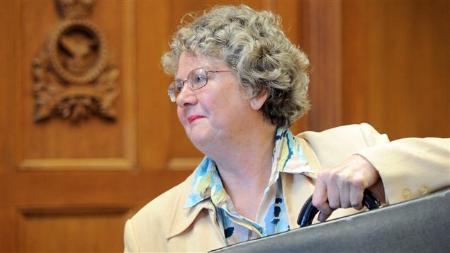 La commissaire à l'éthique Mary Dawson