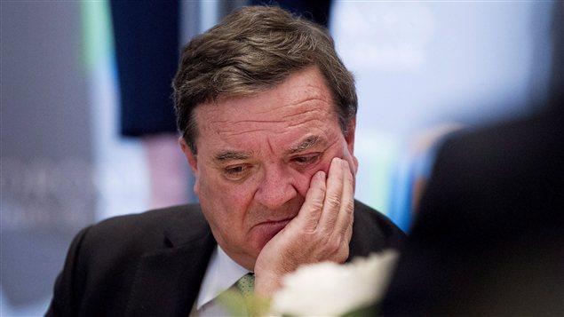 Jim Flaherty à Toronto en novembre
