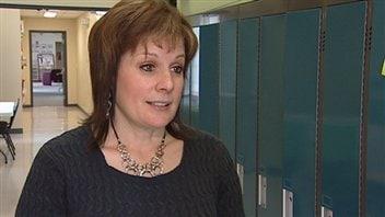 La directrice de l'École Boréale de Ponteix, Chantal Morin-Switzer