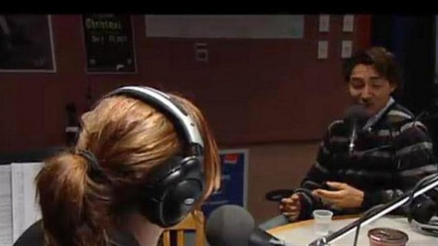 Justin Trudeau à la radio de CBC vendredi matin