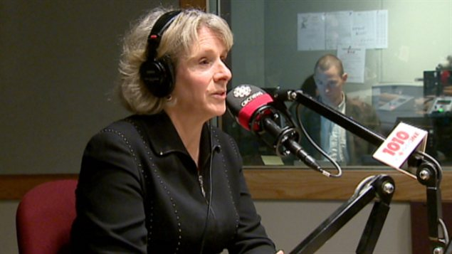 La présidente de l'Université de Calgary, Elizabeth Cannon