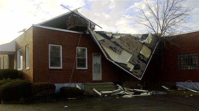Tempête au Nouveau-Brunswick