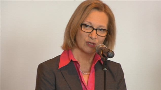 La chef de la direction de Rio Tinto Alcan, Jacynthe Côté