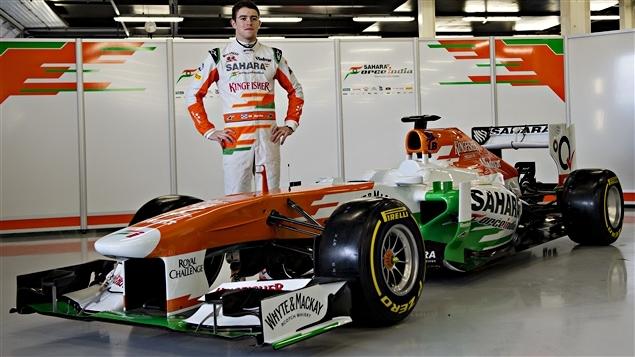 Paul di Resta et la Force India VJM06