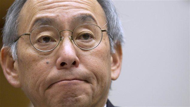 Le secrétaire américain à l'Énergie, Steven Chu