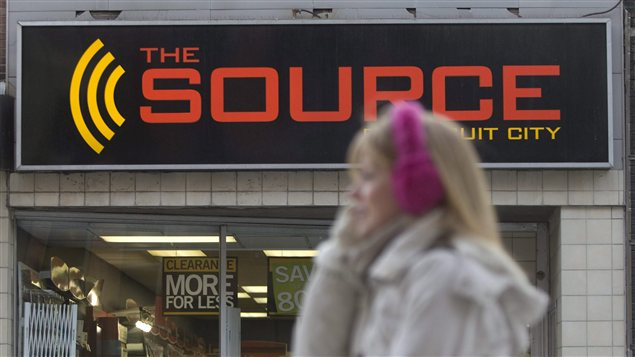 Magasin La Source à Ottawa
