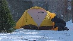 La population est invitée à faire du camping d'hiver sur les plaines d'Abraham.