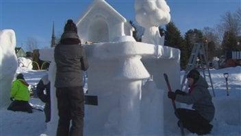 Saguenay en neige