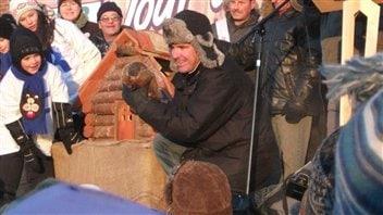 Fred la marmotte officielle du Québec
