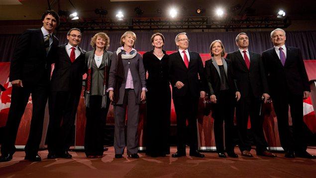 Les candidats à la direction du Parti libéral du Canada