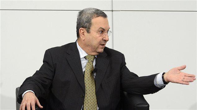 Ehoud Barak, ministre israélien de la Défense lors de la Conférence internationale sur la sécurité à Munich
