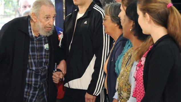 Fidel Castro, 86 ans, n'était plus réapparu en public depuis le 21 octobre 2012.