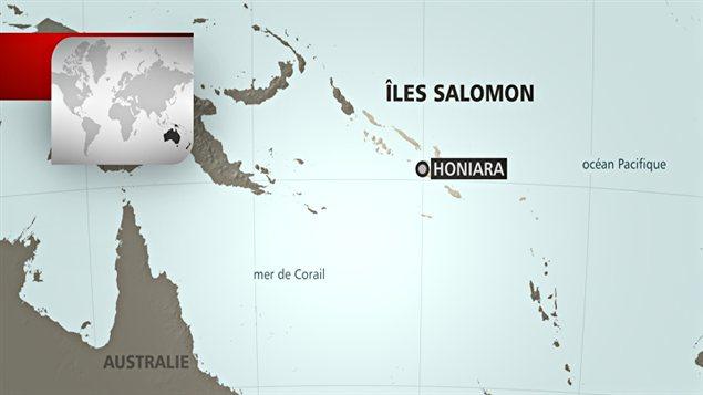 Les îles Salomon et leur capitale, Honiara
