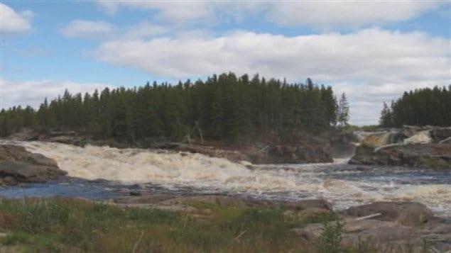La Onzième chute de la rivière Mistassini