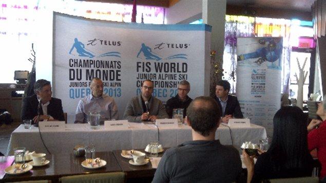 La région de Québec se prépare à recevoir les meilleurs skieurs alpin junior au monde