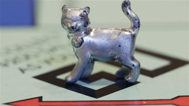 Le nouveau jeton de Monopoly représente un chat.