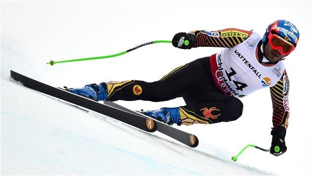 Le Canadien Jan Hudec à Schladming