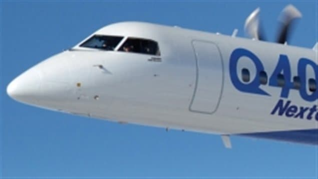 Un avion CRJ de Bombardier