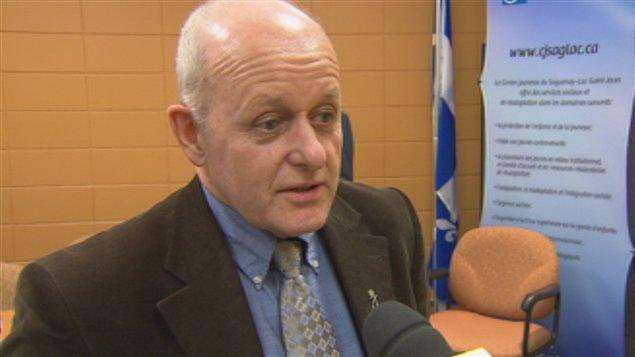 Marc Thibeault, directeur général du Centre jeunesse Saguenay-Lac-Saint-Jean