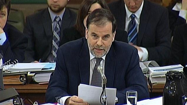 Le ministre québécois de l'Enseignement supérieur, Pierre Duchesne, à Québec